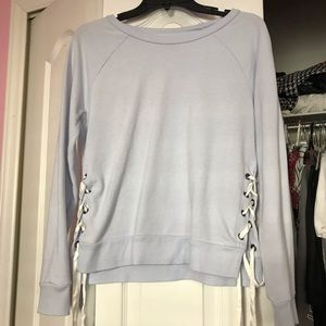 Aerie baby blue sweater
